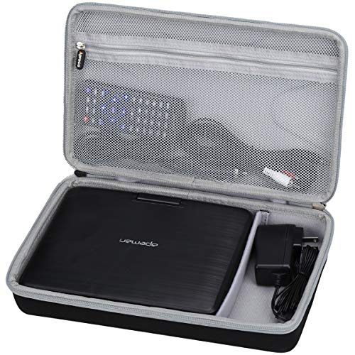 Aproca Hard Carrying Travel Case for APEMAN 9.5'' Portable DVD Player