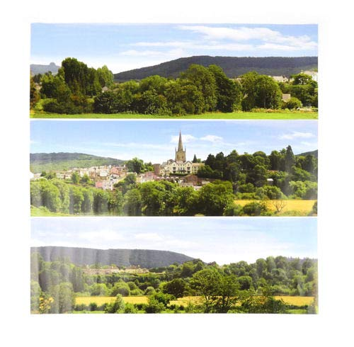 Gaugemaster GM708 Pretty British Town Large Photo Backscene (2744x304mm)