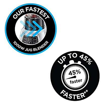 Russell-Hobbs-Standmixer-Glas-Velocity-Pro-7-Einstellungen-3-Geschwindigkeistsstufen-IceCrush-3-Programme-fr-Smoothie-Getrnke-Suppen-15l-Glasbehlter-22000Umin-09PS-Motor-25720-56