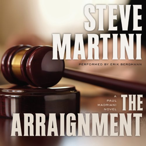 The Arraignment audiobook cover art