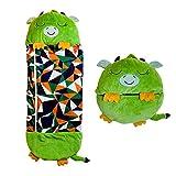 Happy Cartoon Animal Sleeping Bag Portable and Foldable Kids Fun Sleeping Bags Soft and Comfortable Children Animal Sleeping Bag for Kids Boys Girls.