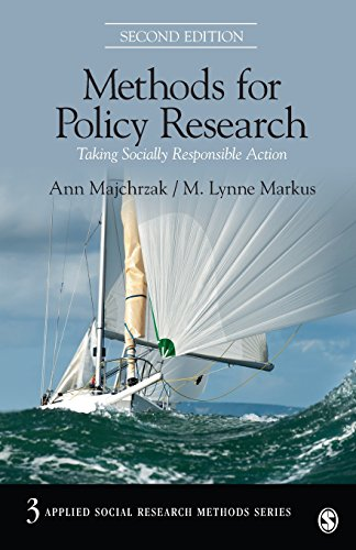 Methods for Policy Research: Taking Socially Responsible Action (Applied Social Research Methods)