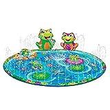 Di alta qualità materiale: Cospargere piscina per bambini è fatto di non-tossico materiale del PVC, completamente privo di BPA e ftalati. Lo spessore è di 0.25 millimetri, e la tecnologia di saldatura dielettrica è adottato per ridurre crepe e perdit...