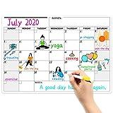 Eono by Amazon - Pizarra Magnetica Nevera, Calendario Magnetico, Organizador Semanal Magnetico, 42,8...