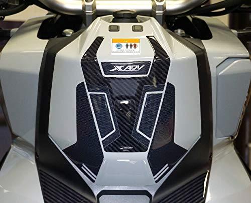 Kit Adesivi 3D protezione pedana zona accensione compatibile con Honda XADV dal 2021