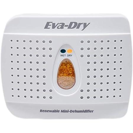 Eva-Dry Wireless Mini Dehumidifier, White (E-333)