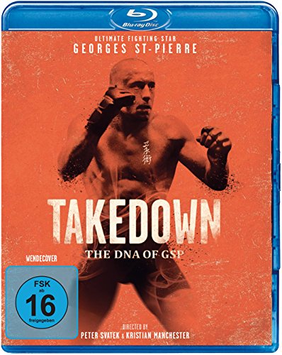 Takedown - The DNA of GSP (UFC Ultimate Fighting) [Blu-ray]