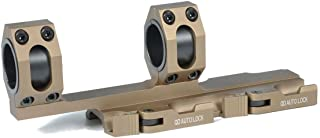 Green Blob Outdoors GBO Extended QD Scope Rings Mount Top Rail Extended 30mm - 1 inch Ring Tactical for Burris, Nikon, Leupold, Vortex, UTG Scopes Dark Earth
