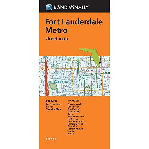 Rand McNally Folded Map: Fort Lauderdale Metro Street Map