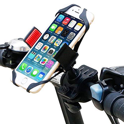 TechBolt - Soporte para teléfono móvil y Smartphone, Agarre de Goma Antideslizante, Fuerte Clip Universal para Manillar de Bicicleta, Motocicleta, Scooter, Moto, Accesorios de Cochecito: Amazon.es: Electrónica