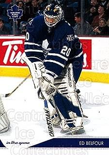 (CI) Ed Belfour Hockey Card 2003-04 Toronto Star (base) 90 Ed Belfour