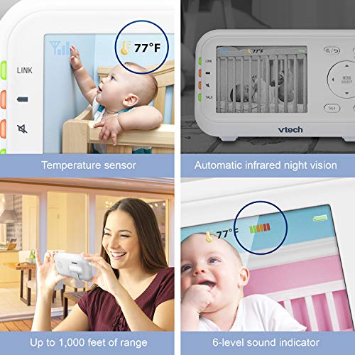 51L2XVS2rZL 12 Best Baby Monitors Under $150–$200 Review [Updated 2021]