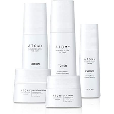 Amazon.com : Atomy Skin Care System THE FAME - Unfading Beauty, Unfading Reputation-Lotion.toner,Essence,Eye cream,Nutrition Cream-Korean made6 : Beauty & Personal Care