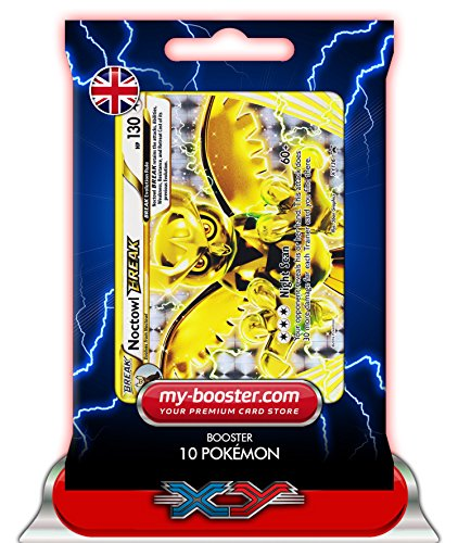 NOCTOWL BREAK XY136 130HP XY08 - Booster 10 English Pokemon trading cards my-booster