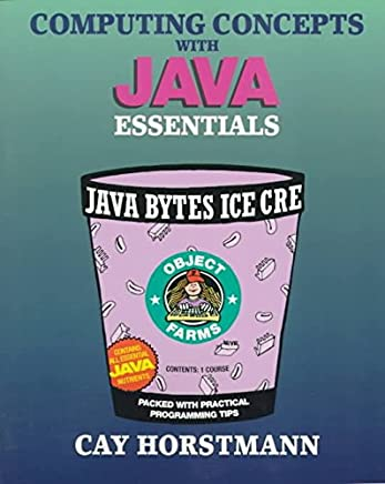 [(Computing Concepts with Java Essentials)] [By (author) Cay S. Horstmann] published on (October, 1997)
