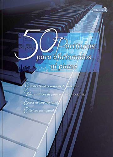 """50 Partituras para Aficionados al Piano"" VOL 3"