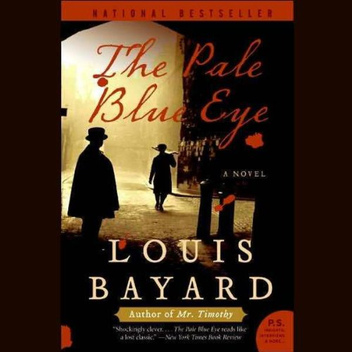 The Pale Blue Eye audiobook cover art