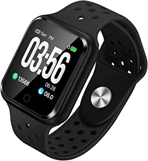 WAFA Fitness Tracker with Heart Rate Blood Pressure Monitor, Waterproof Fitness Watch, Bluetooth Smart Watch with Sleep Sports Data Monitor Activity Tracking Pedometer Watch for Kids Women Men