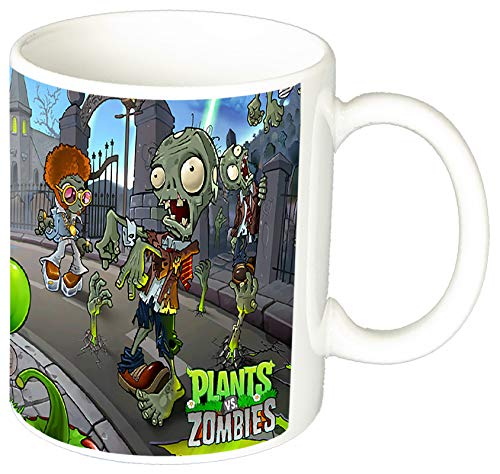 MasTazas Plantas Vs. Zombies Plants Vs. Zombies B Taza Ceramica