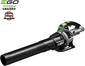 Ego 56-Volt Lithium-Ion Cordless Electric Baretool Turbo Blower 110 MPH 530 CFM Variable Speed (Battery and Charger Not Included)