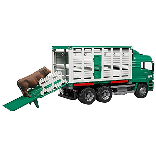 MAN Cattle Transportation Truck incl. Cattle (1 pc. Color may vary)
