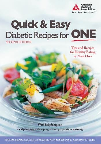 Image OfQuick And Easy Diabetic Recipes For One