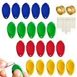 38 PCS Needle Threader Tool for Hand Sewing Machine, Plastic Simple Needle Threader for Sewing Crafting
