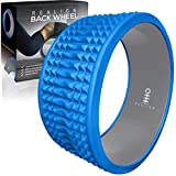 Realign Back Wheel: Back Pain Relief, Foam Roller (Blue/Grey)