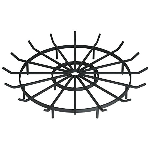 SteelFreak Wagon Wheel Firewood Grate for Fire Pit - Made in The USA (40 Inch)