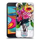 Head Case Designs Officiel Mai Autumn De Juillet Fleurs Bouquet Coque Dure pour l'arrière Compatible avec Samsung Galaxy A2 Core (2019)