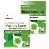 Social Work Licensing Masters Exam Guide and Practice Test Set: A Comprehensive Study Guide for Success (3rd Edition) – Includes a Total of 340 Questions for the ASWB Licensing Board Exam