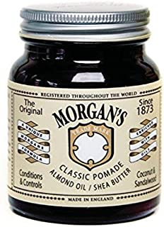 Morgan Classic Pomade with Almond Oil and Shea Butter, 1 Pound