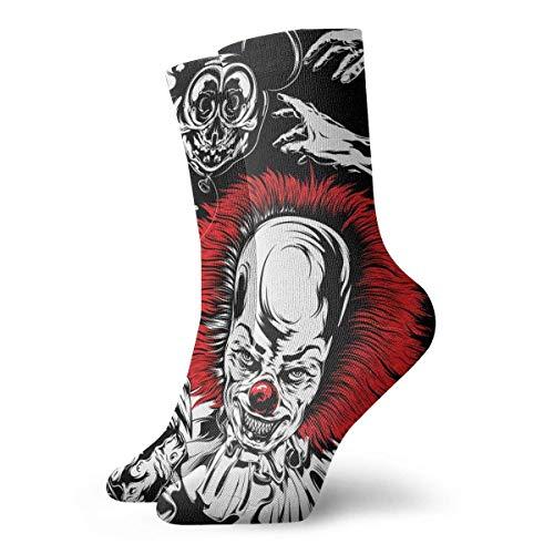 Lsjuee Horrorfilm Unisex Herren und Damen Bequeme Casual Socken Kurz, Bootssocken One Size