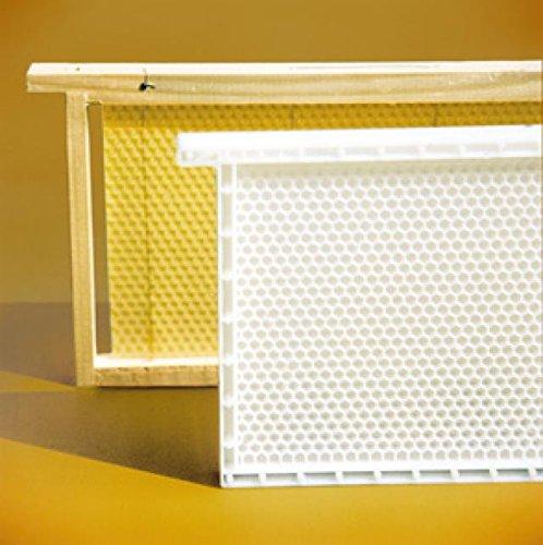 Lega Dadant Blatt Honig-Raum Kunststoffwabe, Rähmchen und Mittelwand aus Kunstoff