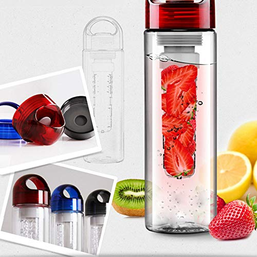 CYONGYOU 700ML plastic sap citroen fruit waterfles met filter lekvrije sport wandelen camping drinkfles