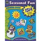 Seasonal Fun Sticker Book: 1514 Seasonal Stickers
