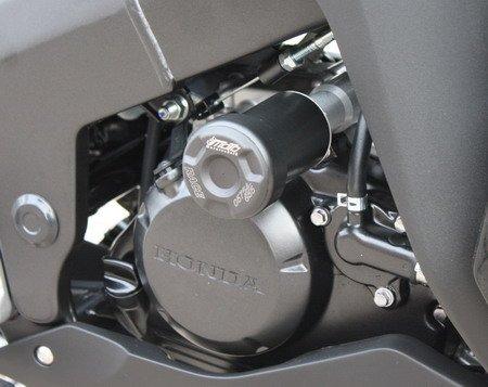 Satz GSG Moto Sturzpads passend für die Honda CBR 125 JC50 11-