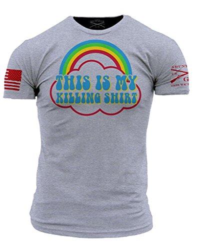 Grunt Style Killing Shirt Men's T-Shirt, Color Grey, Size Medium
