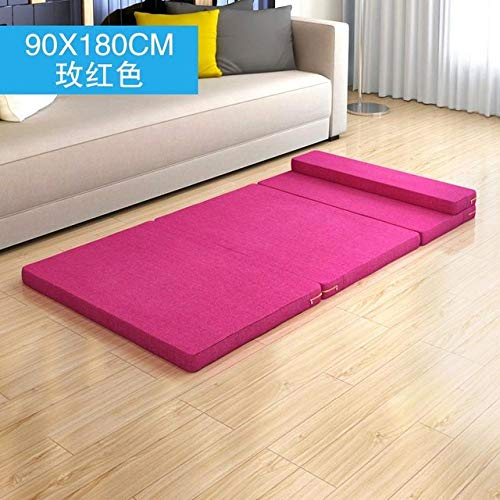 LJQLXJ divano Creative Single Lazy Sofa Single Folding Bed Recliner Personality Cute Tatami Sofa Modern Sofa,90x180cm