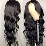 360 Lace Frontal Wigs Body Wave Lace Front Wigs 180% Density 14 inch Human Hair Wigs for Women Per Plucked With Baby Hair
