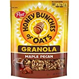 Post Honey Bunches of Oats Maple Pecan Granola Cereal and Snack, Good Source of Fiber, made with Whole Grain Breakfast Cereal, 11 Ounce (Pack of 5)