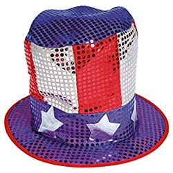 Sequin Flag Hat