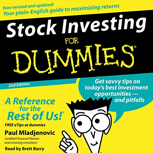 Stock Investing for Dummies, 2nd Edition cover art