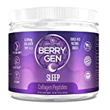 Berry Gen Sleep (1) | Natural Sleep Aid Supplement | Grass-Fed Collagen Peptides Type 1 & 3 | Stress, Anxiety & Insomnia Relief Supplement, Non-GMO, Gluten Free | 205.5 Grams.