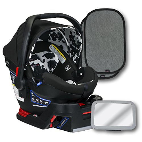 Britax B-Safe Ultra Infant Car Seat, Cowmooflage, Back Seat...