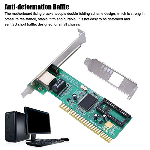 Tosuny 10/100 / 1000Mbit / s Gigabit Ethernet PCI Express PCIE Netzwerkadapter/Netzwerkkarte/Ethernet-Karte für Windows 7/8/10 / Linux