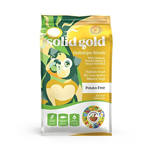 Solid Gold - Holistique Blendz with Oatmeal, Pearled Barley & Ocean Fish Meal - Holistic Sensitive...