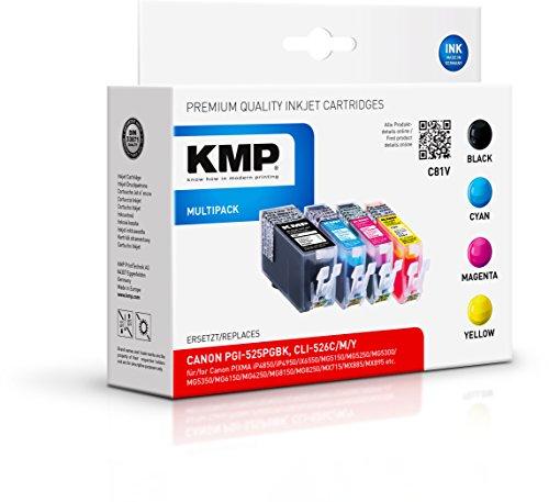 KMP Multipack für Canon PIXMA MG8150 , C81V