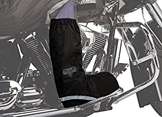 Nelson-Rigg Unisex Waterproof Rain Boot Cover (Black, Medium)