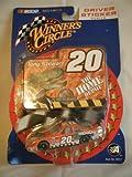 2001 Tony Stewart #20 Jurassic Park Home Depot Pontiac Grand Prix 1:64 Scale Winners Circle Sticker Edition Factory Sealed Plastic Blister Packge On Card